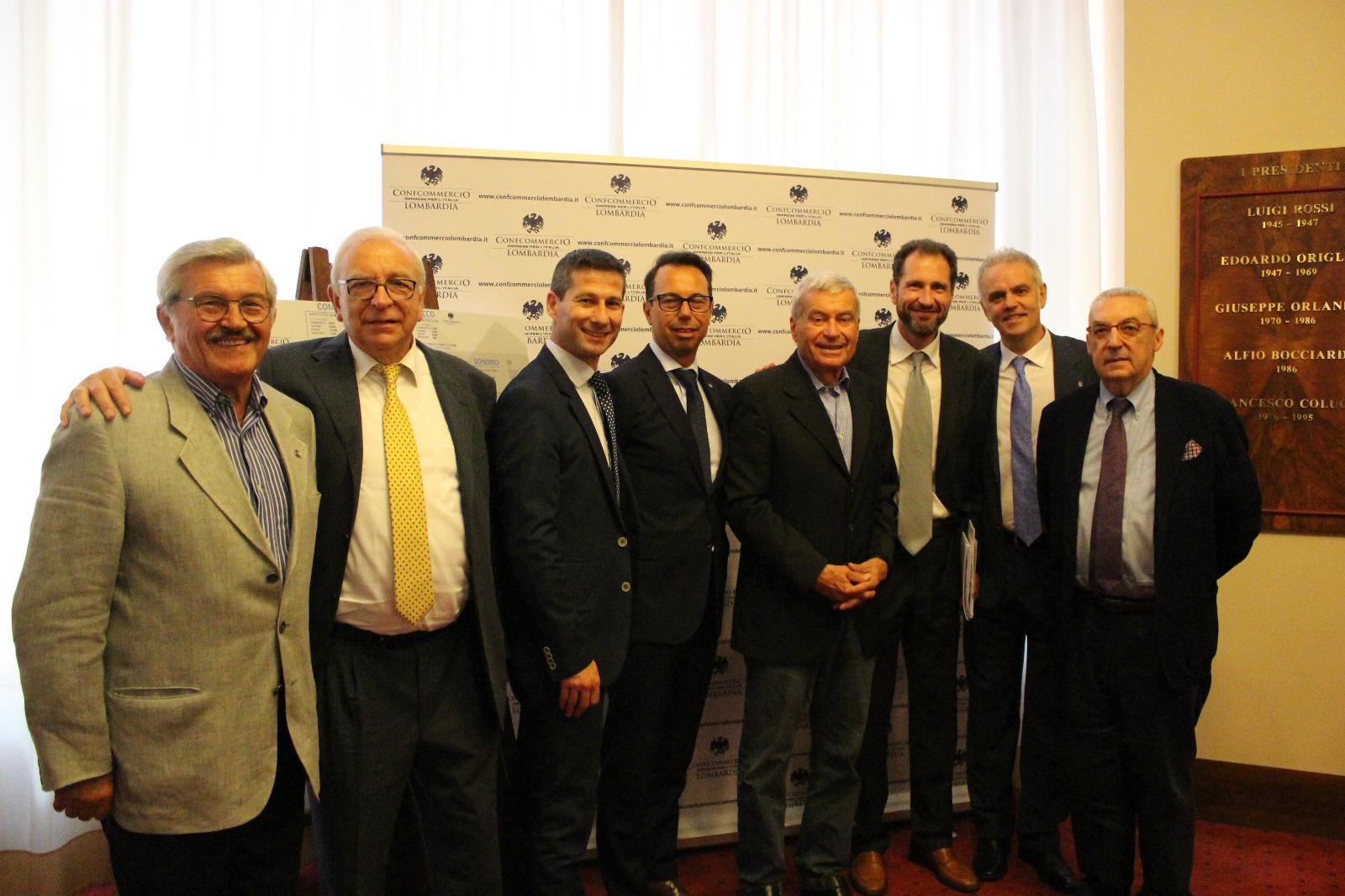 Sangalli con i presidenti delle Ascom della prov.