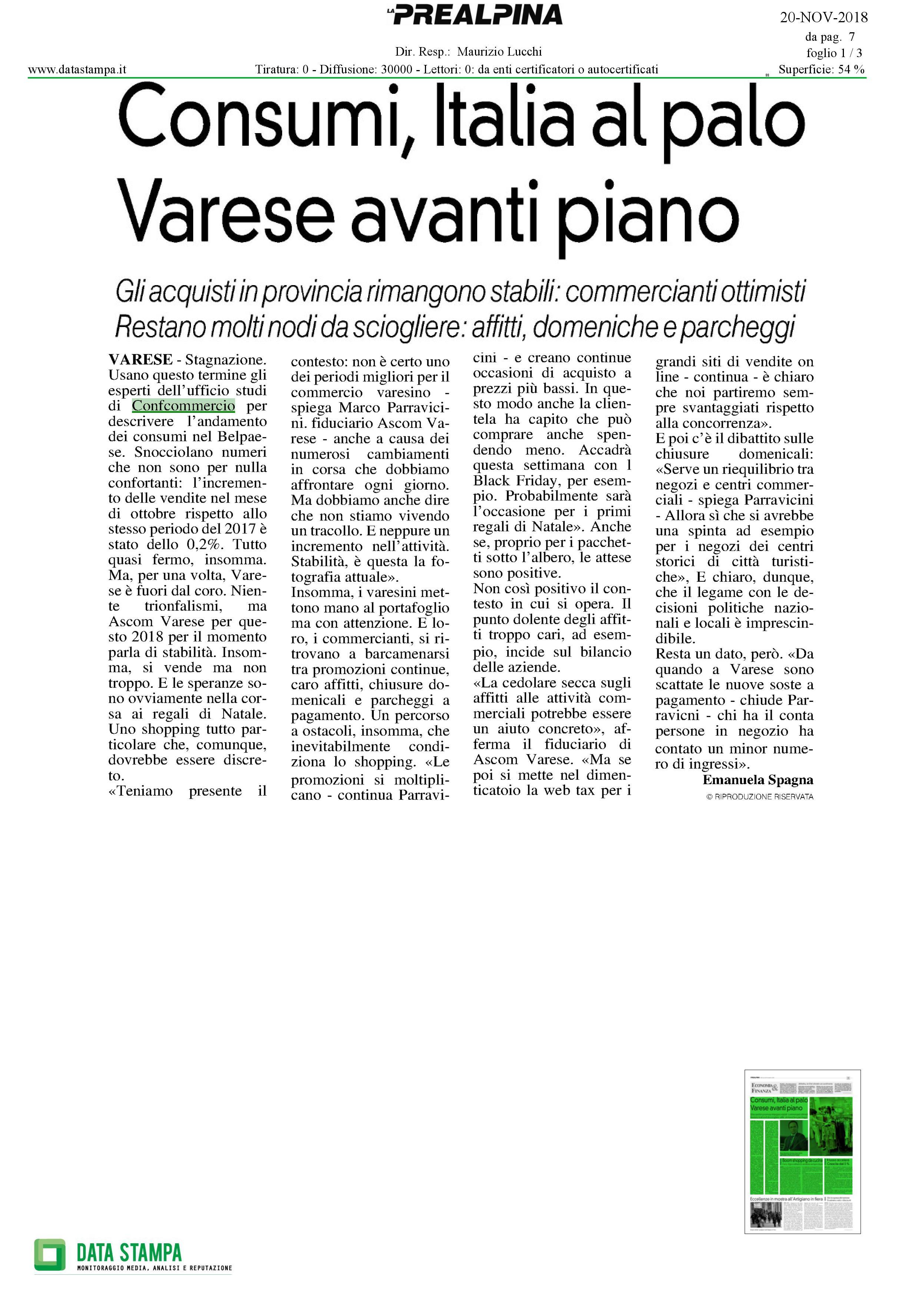 Varese,consumiavantipiano