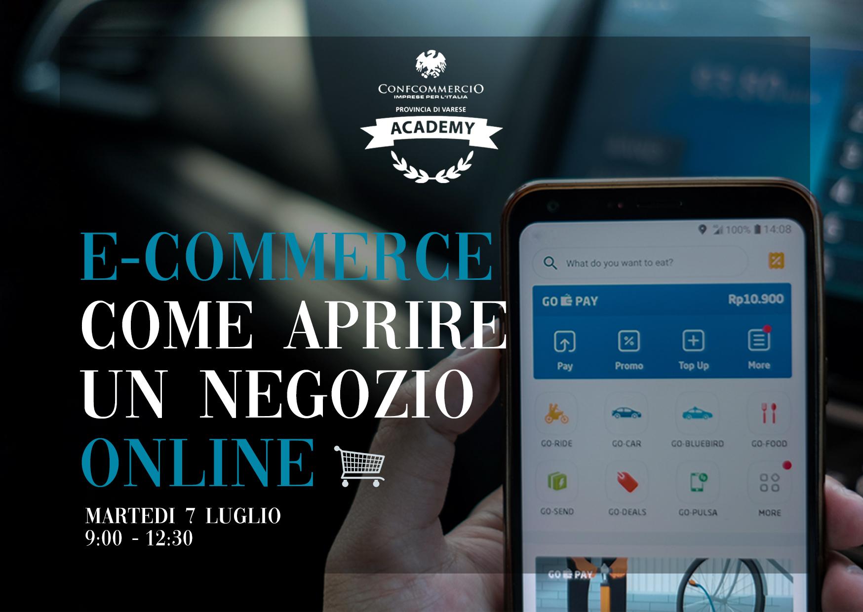 E-commerce:comeaprireunnegozioonline