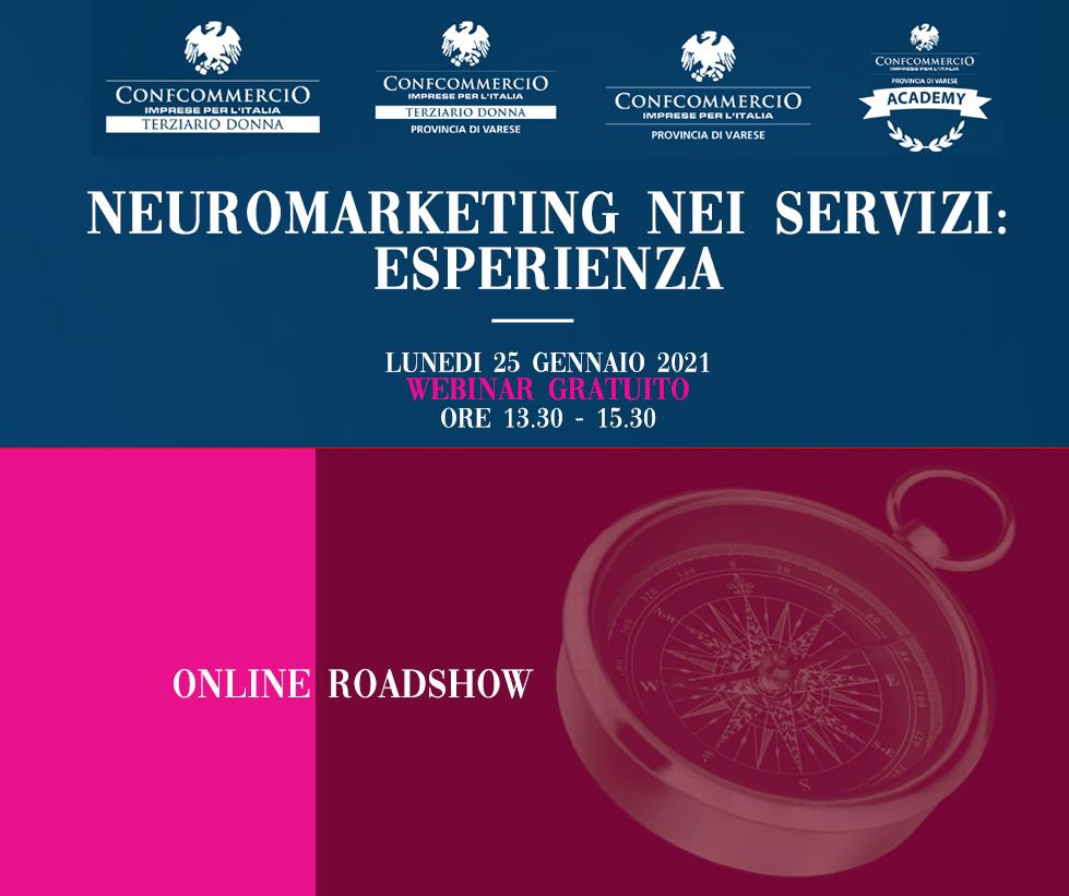 Neuromarketingneiservizi:esperienza.Webinargr