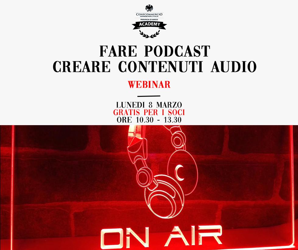 Podcast:comecrearecontenutiaudioperpromuover