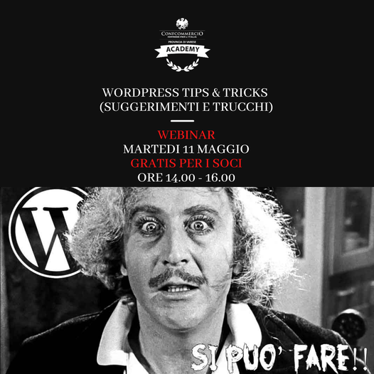 WORDPRESS TIPS & TRICKS (SUGGERIMENTI E TRUCCHI)