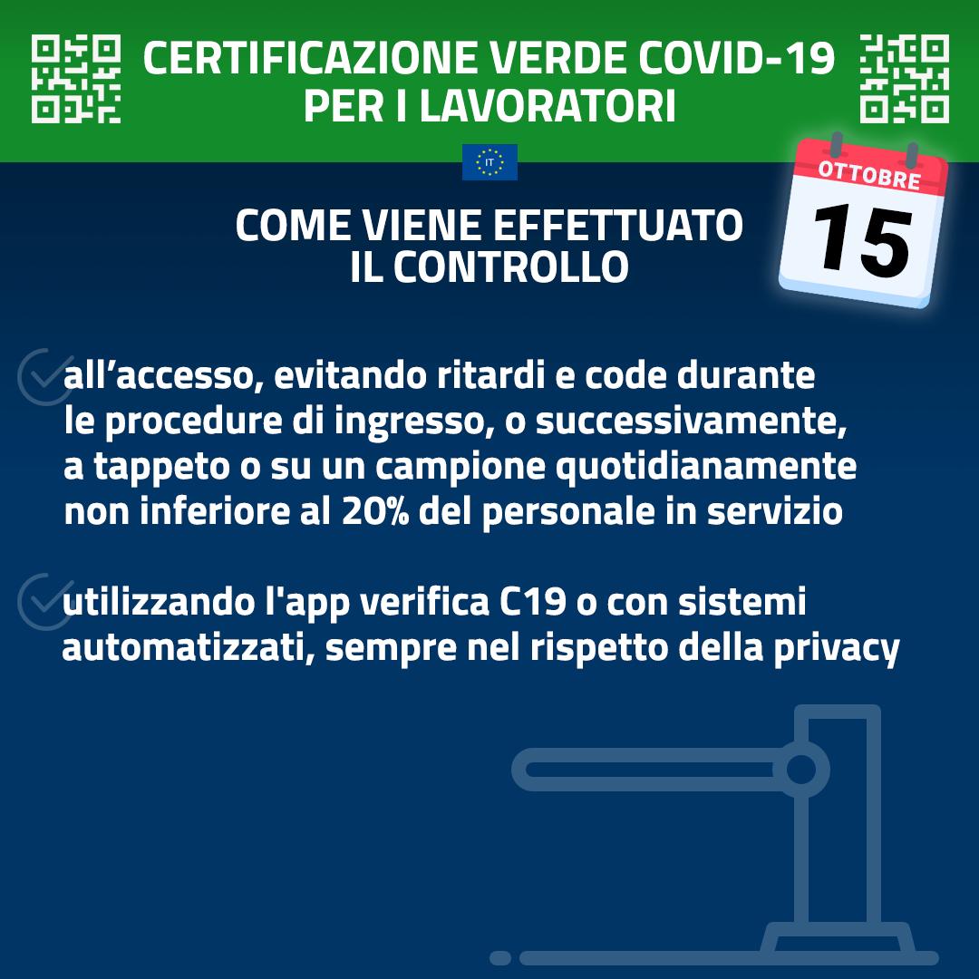 GreenPass:icontrolli